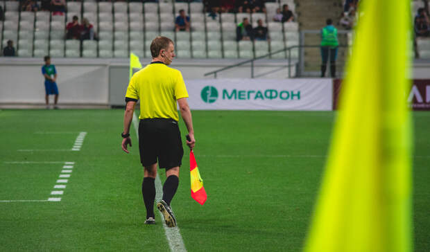 После первого тайма матча «Рубин»— «Ротор» счет 0:0