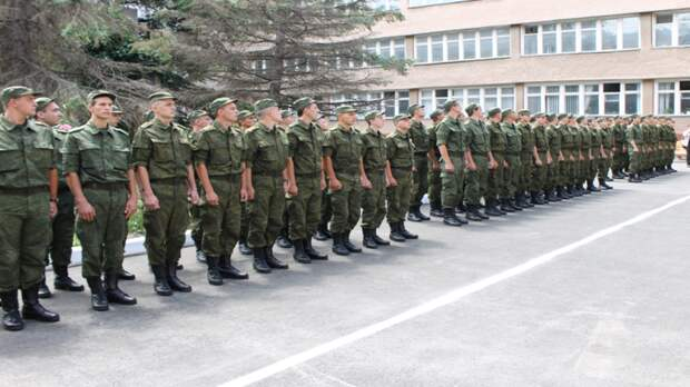 Первые новобранцы весеннего призыва прибыли в соединение РВСН под Саратовом