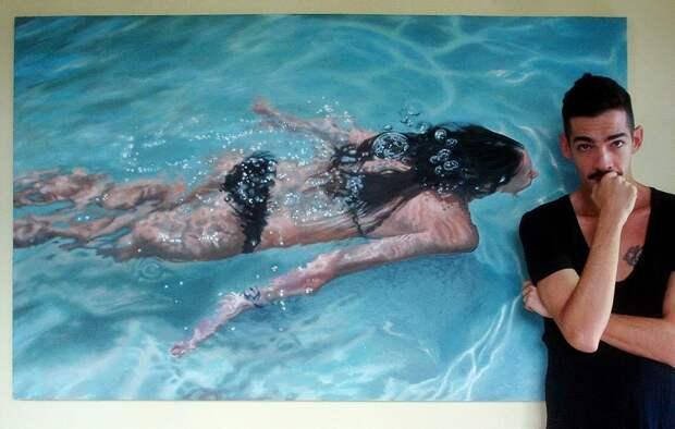 Невероятно реалистичные водные фантазии Густаво Нуньеза