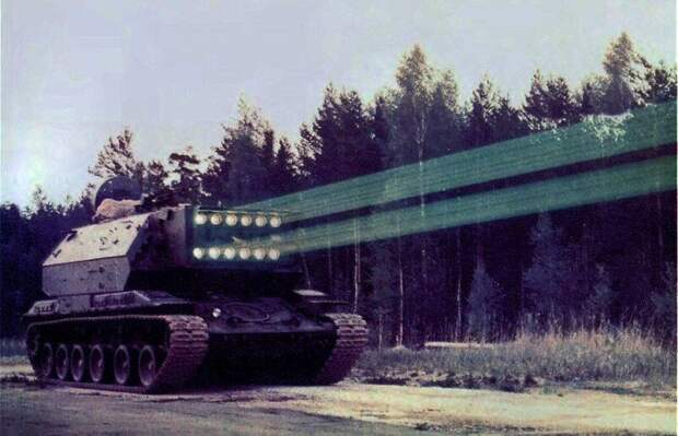 Перспективный лазерный танк, который так и не довели до ума