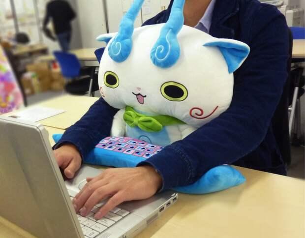 Подушки для здоровой работы закомпьютером— новый хит японских офисов