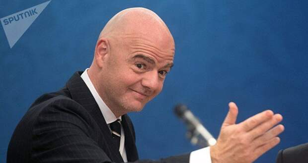 Глава ФИФА Инфантино рассекретил подробности беседы с Трампом