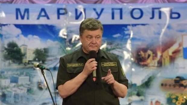 Украинский Мариуполь пошел в социалистическое наступление на Киев