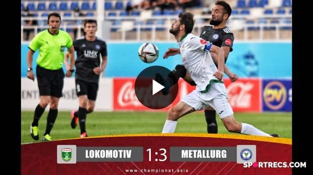 Superliga. Lokomotiv - Metallurg 1:3. Highlights