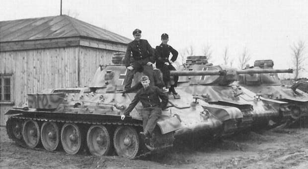 Трофейные советские танки в Вермахте. - ЯПлакалъ