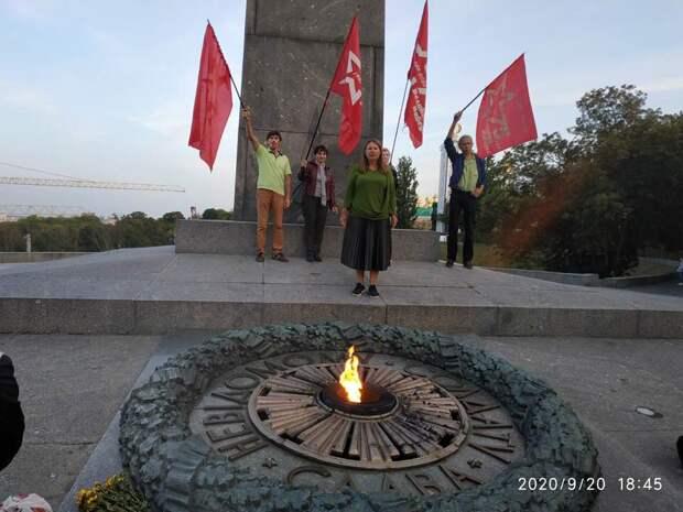 Нацисты в Киеве сорвали мероприятие по случаю Дня мира