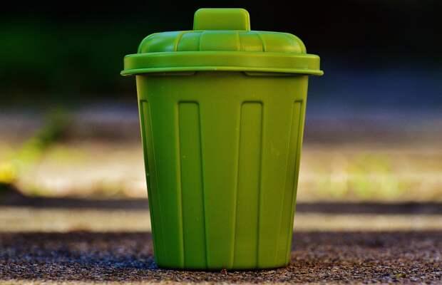 Мусорный Ящик, Мусор, Ведро, Зеленый, Урны Для Мусора