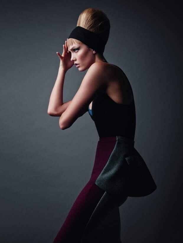 Карли Клосс для Vogue UK, ноябрь 2015 года.