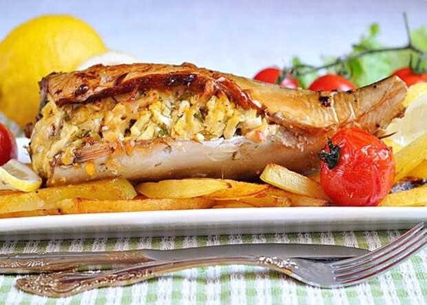 Праздничный рецепт рыбы… получается бесподобно вкусной, нежной и сливочной!