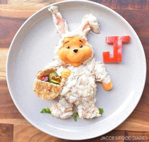50 блестящих идей для украшения детского завтрака