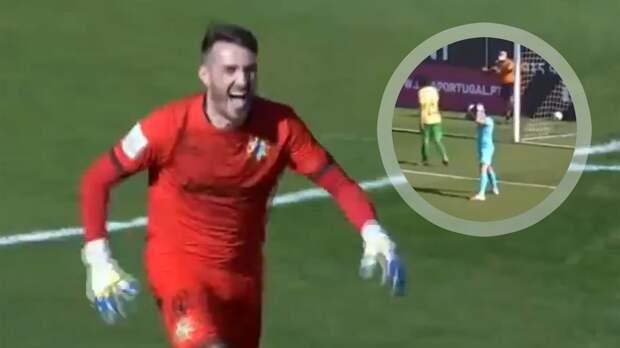 В чемпионате Португалии вратарь забил гол ударом от своих ворот: видео