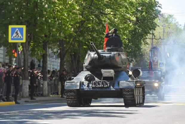 Севастополь отмечает День Победы в Великой Отечественной войне