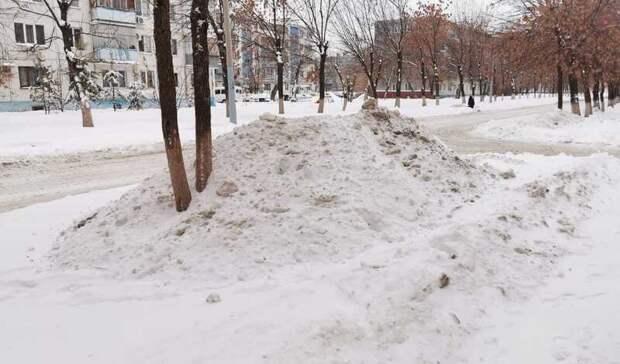 ИзОренбурга засутки вывезли более 10 тысяч кубометров снега