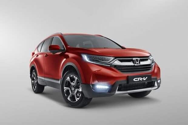 Honda CR-V: объявлены комплектации для российского рынка