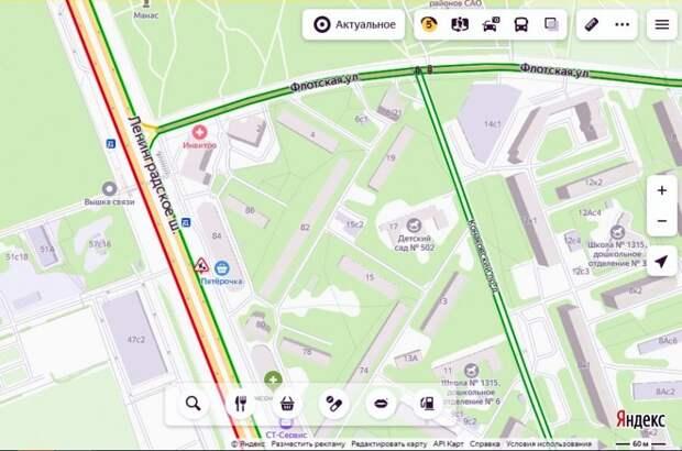 На проблемном участке Ленинградского шоссе завершились работы по ремонту водопровода