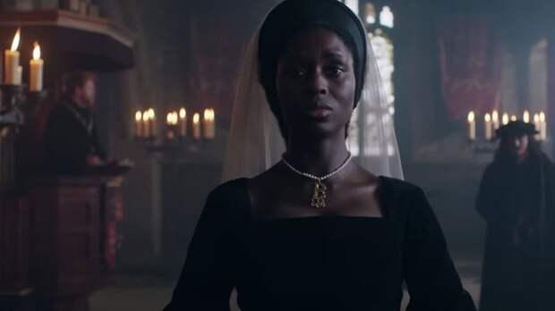 Появился трейлер сериала «Анна Болейн» с темнокожей актрисой в главной роли