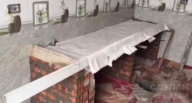 Декоративная столешница из бетона своими руками