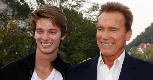 Сын Шварценеггера снимается в кино, но вдохновляет его вовсе не отец