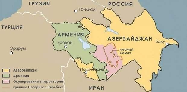Армения-Азербайджан: дураки в своём репертуаре...