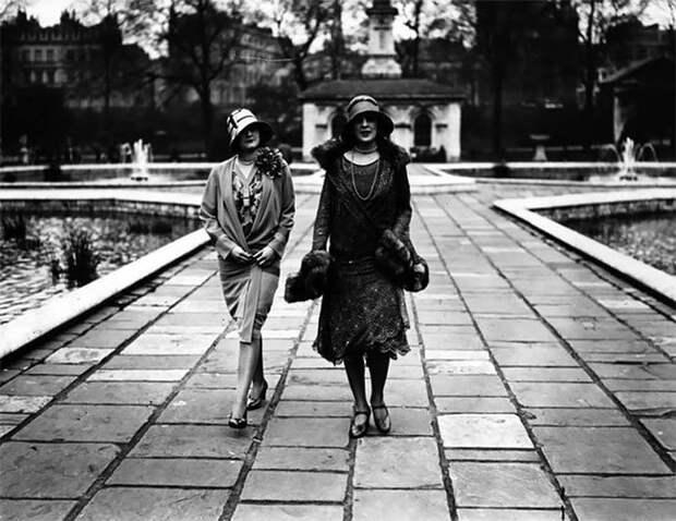Паттнэм, 1920-е Стиль, винтаж, двадцатые, женщина, мода, прошлое, улица, фотография