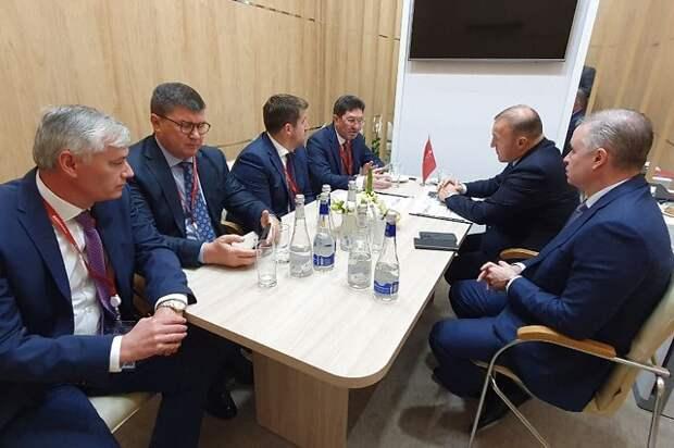 Глава Адыгеи и руководство SFT Group обсудили перспективы реализации в республике инвестпроектов компании