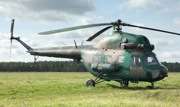 Под Краснодаром разбился вертолет Ми-2
