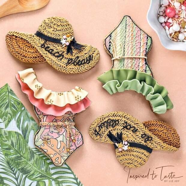 Ее печенье более стильное, чем одежда большинства из нас: 25 кулинарных изысков от «сладкого дизайнера» Лиз Джой, фото № 24