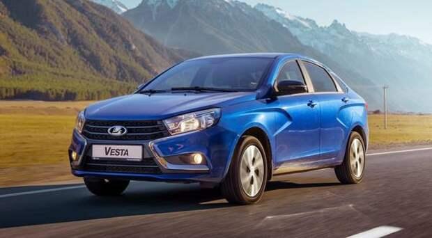 АвтоВАЗ может оснастить Lada Vesta FL системой контроля слепых зон в зеркалах