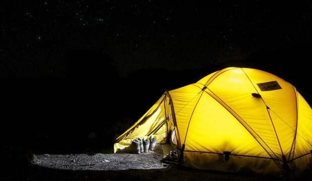 Кемпинговые палатки отличаются большими размерами