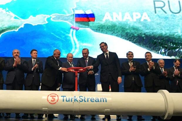 На Украине оценили потери после запуска «Турецкого потока»