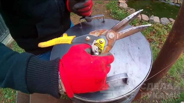 Как сделать буржуйку для отопления гаража