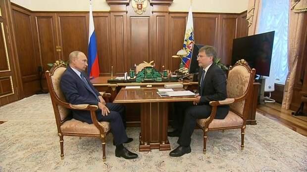Путин: АЛРОСА лидирует в мировой отрасли добычи алмазов, несмотря на кризис
