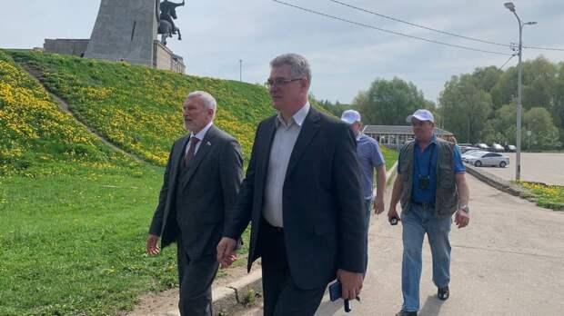 Депутат Журавлев посетил Великий Новгород и отметил большой потенциал города