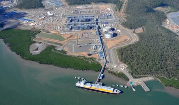 Долю винфраструктуре австралийской QCLNG продает Shell