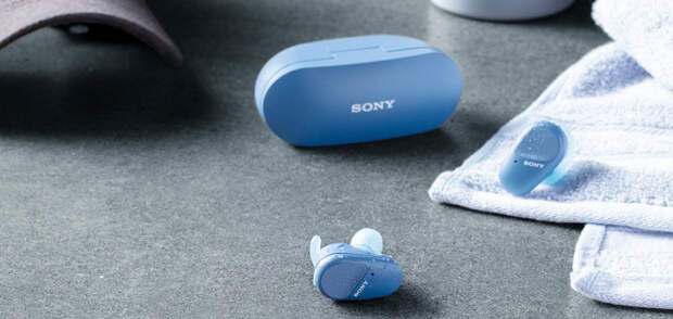 Sony WF-SP800N — уникальные для своей цены полностью беспроводные наушники