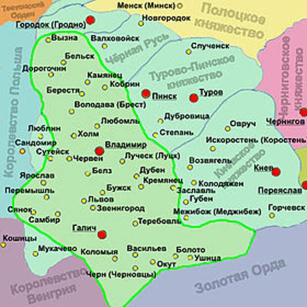 Короли Руси и некоторых сопредельных государств