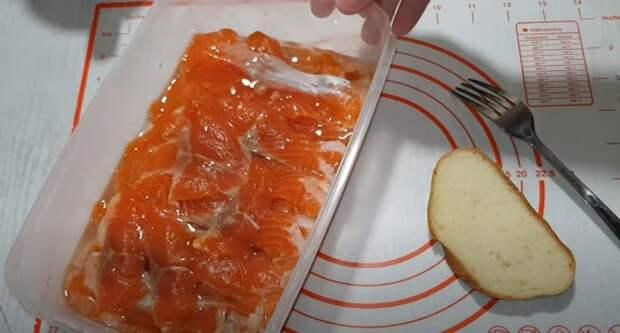 Солю так уже 20 лет. Простой рецепт малосольной красной рыбы: съедается за раз
