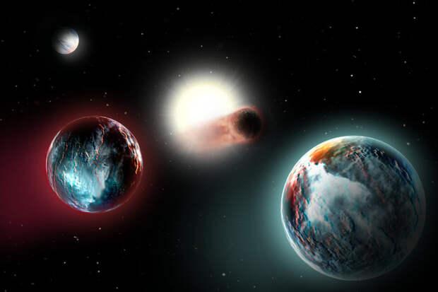 Некоторым внесолнечным планетам приходится очень и очень несладко