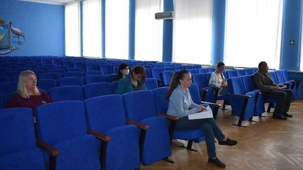 Оксана Морозова провела заседание Комиссии по управлению и распоряжению муниципальным имуществом