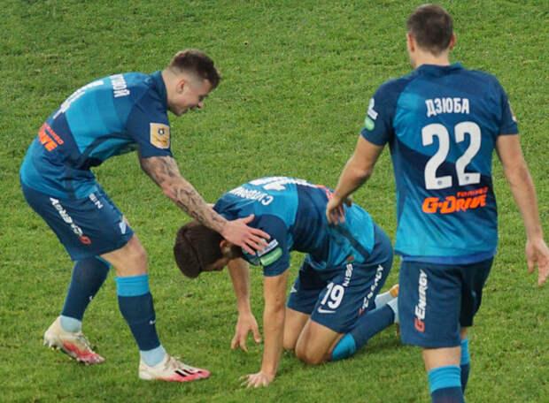 «Зенит» за полчаса отыгрался с 0:2 в Краснодаре - сработали замены Семака