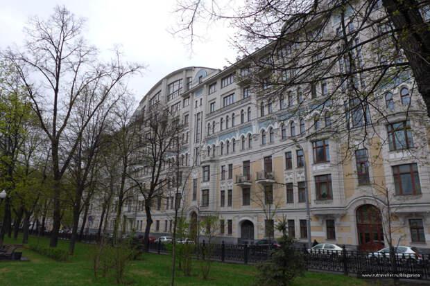 Причудливый декор московских домов в стиле модерн, ч.7