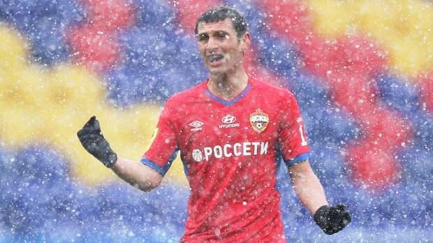 ЦСКА назвал сроки возвращения Дзагоева в общую группу