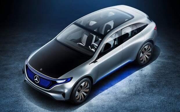Daimler зарядит в электромобили миллиарды евро