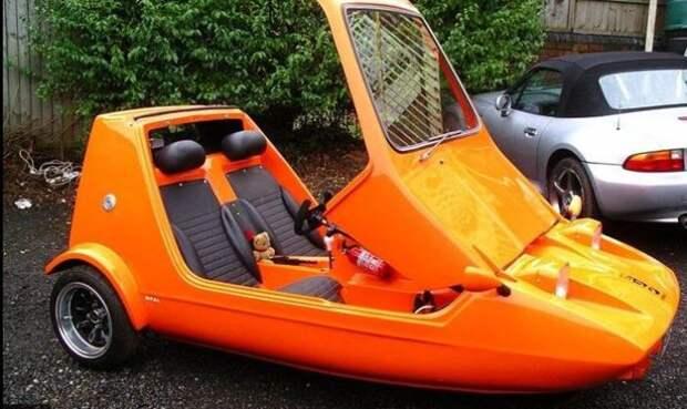 Bond Bug разгоняется до 126 км/час. /Фото: midlifecarisis.com