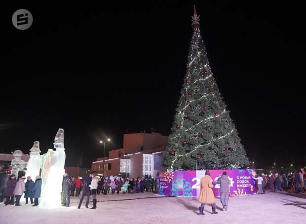 В Ижевске отказались от массовых гуляний в Новый год