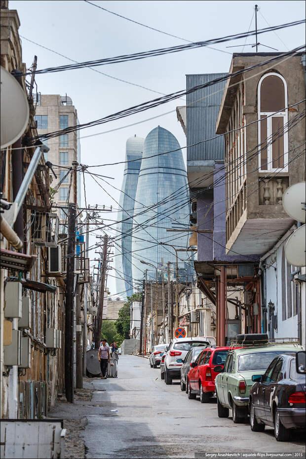 Хороший и плохой Баку в трех фотографиях