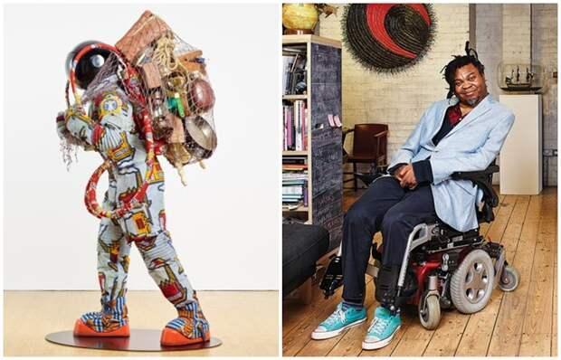 Африканский дизайнер создаёт сюрреалистические скульптуры