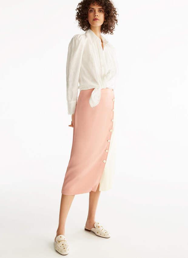 Без чего весна — не весна: атласная юбка (фото 21.1)