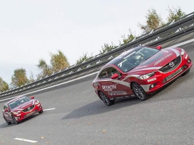 Mazda6 установила необычный мировой рекорд