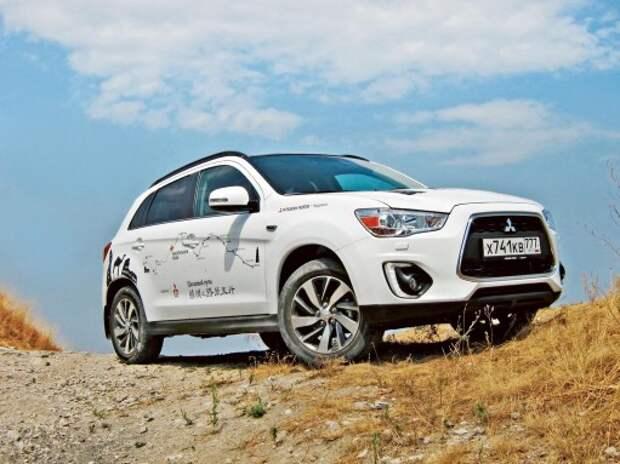 Тест обновленного Mitsubishi ASX: вариация на тему